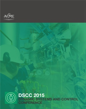 Proceedings of the ASME 8th Annual Dynamic Systems and Control Conference, 2015, vol 1
