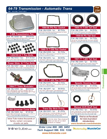 Page 238 - Chevrolet Catalog